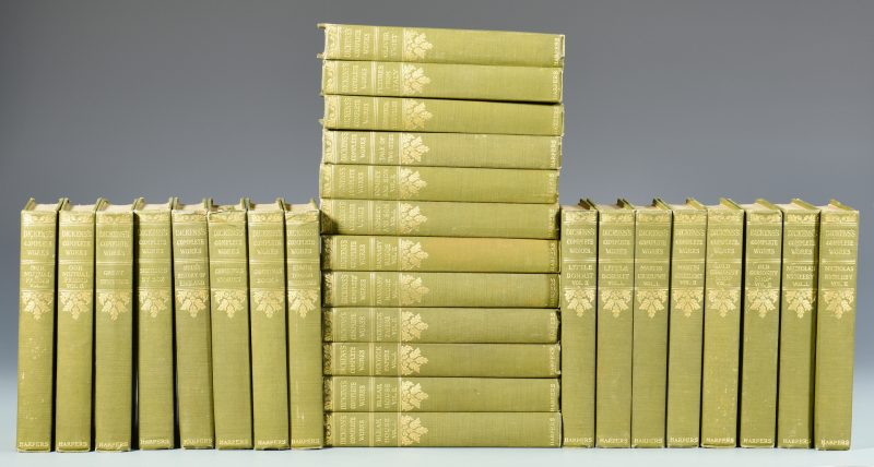 Lot 734: Complete Works of Charles Dickens c. 1920