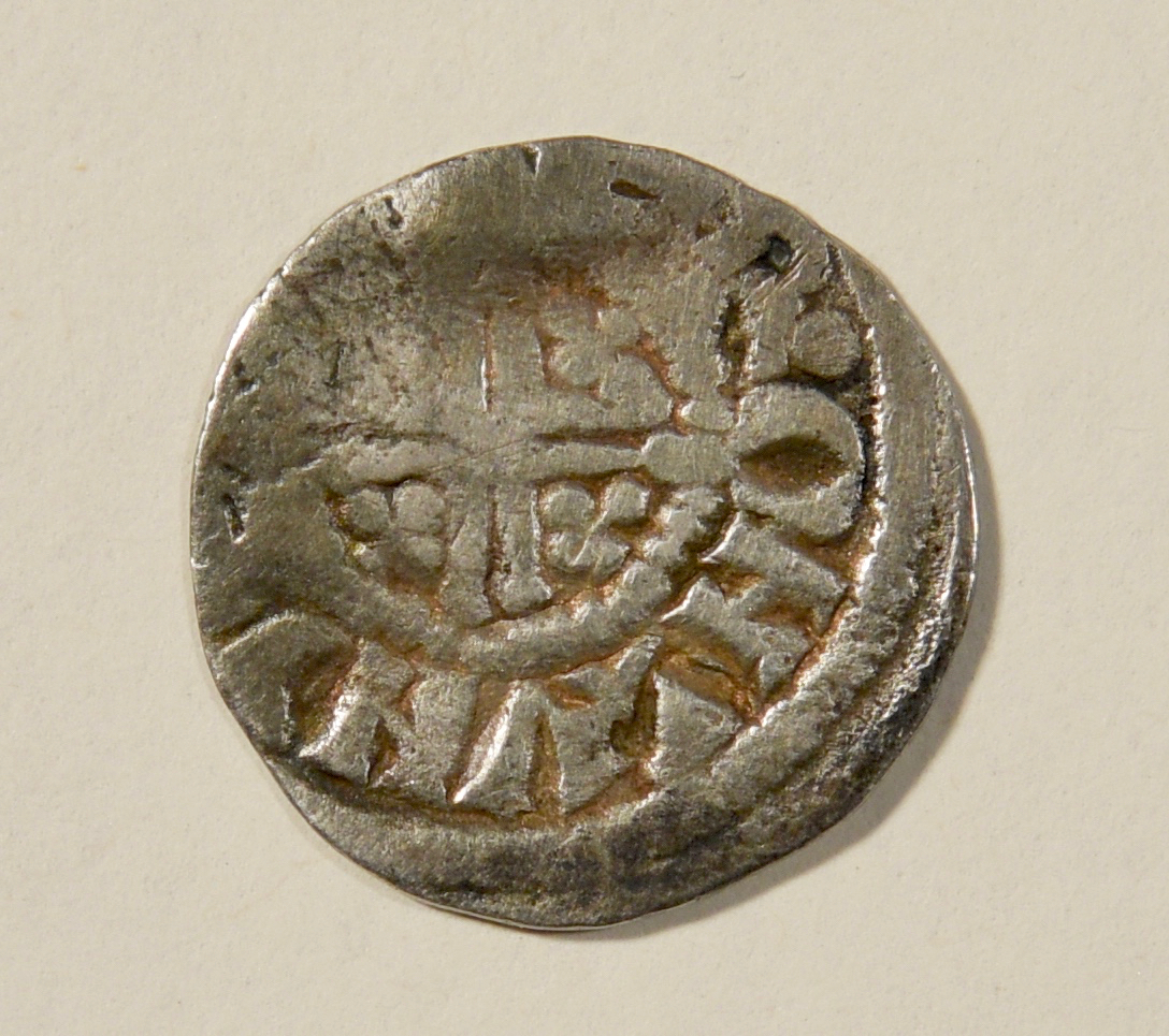 Lot 738: 13th Century English Deed & Silver Coin