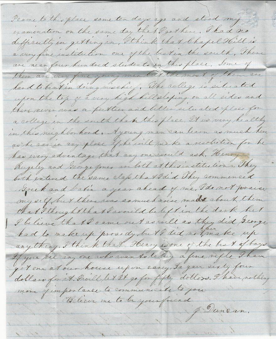 Lot 745: Tatum Davis archive, Texas c. 1850s