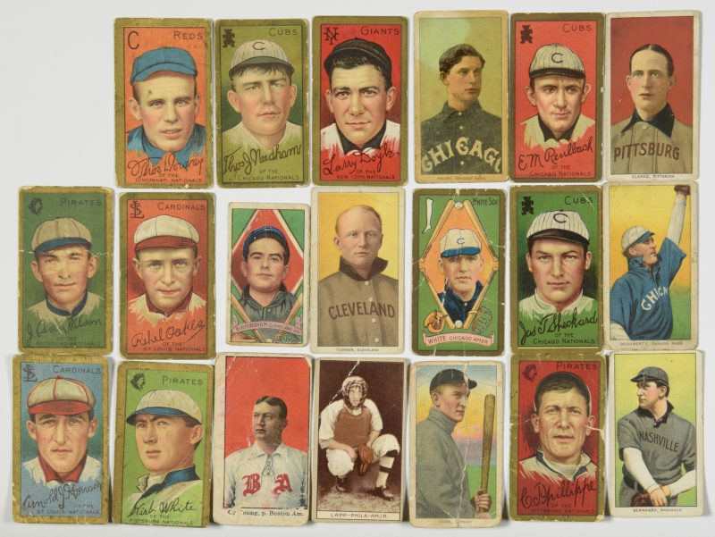 Lot 751: Antique Baseball Cards inc. Nashville