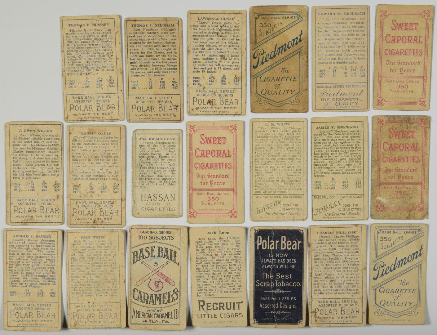 Lot 751: Antique Baseball Cards inc. Nashville