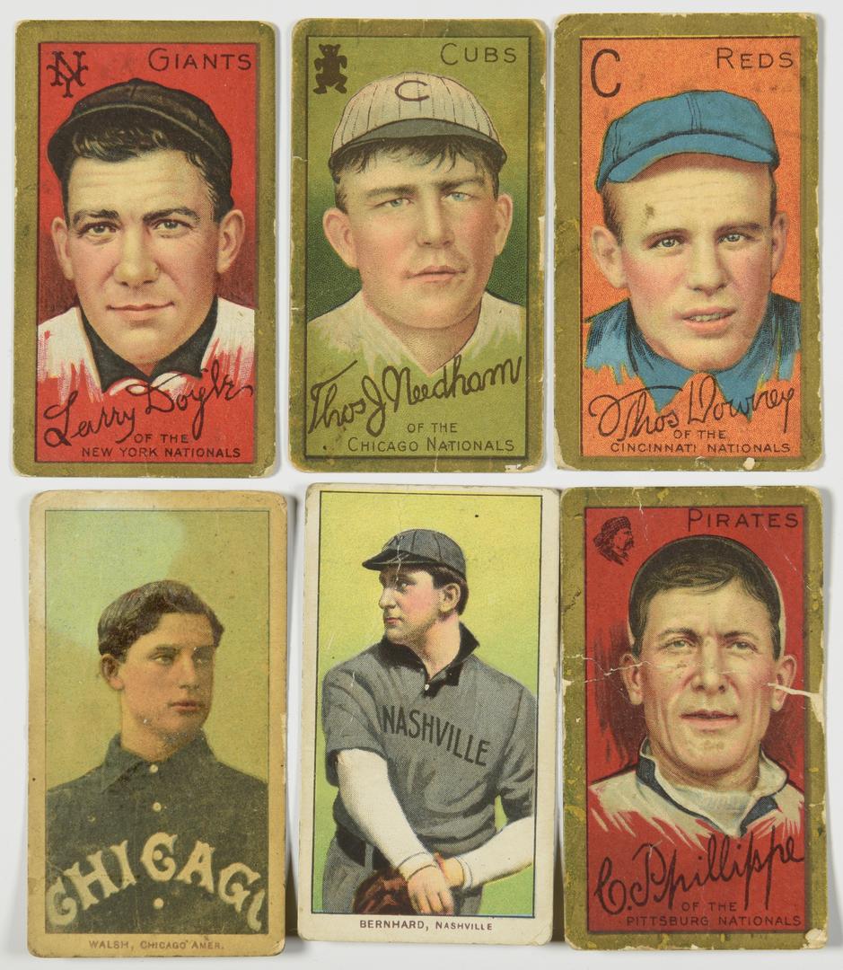 Lot 751 Antique Baseball Cards Inc Nashville