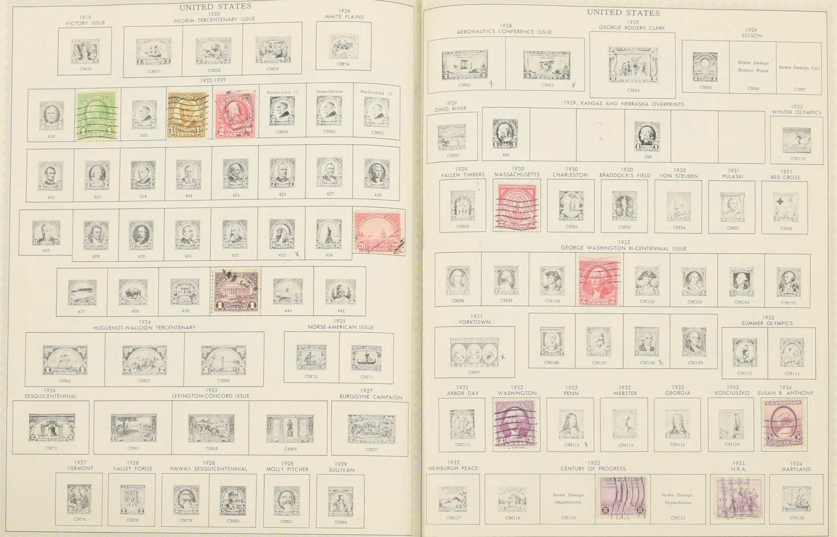 Lot 754: Collection of United States and World Stamp and Stamp Covers, c. 1881-1997