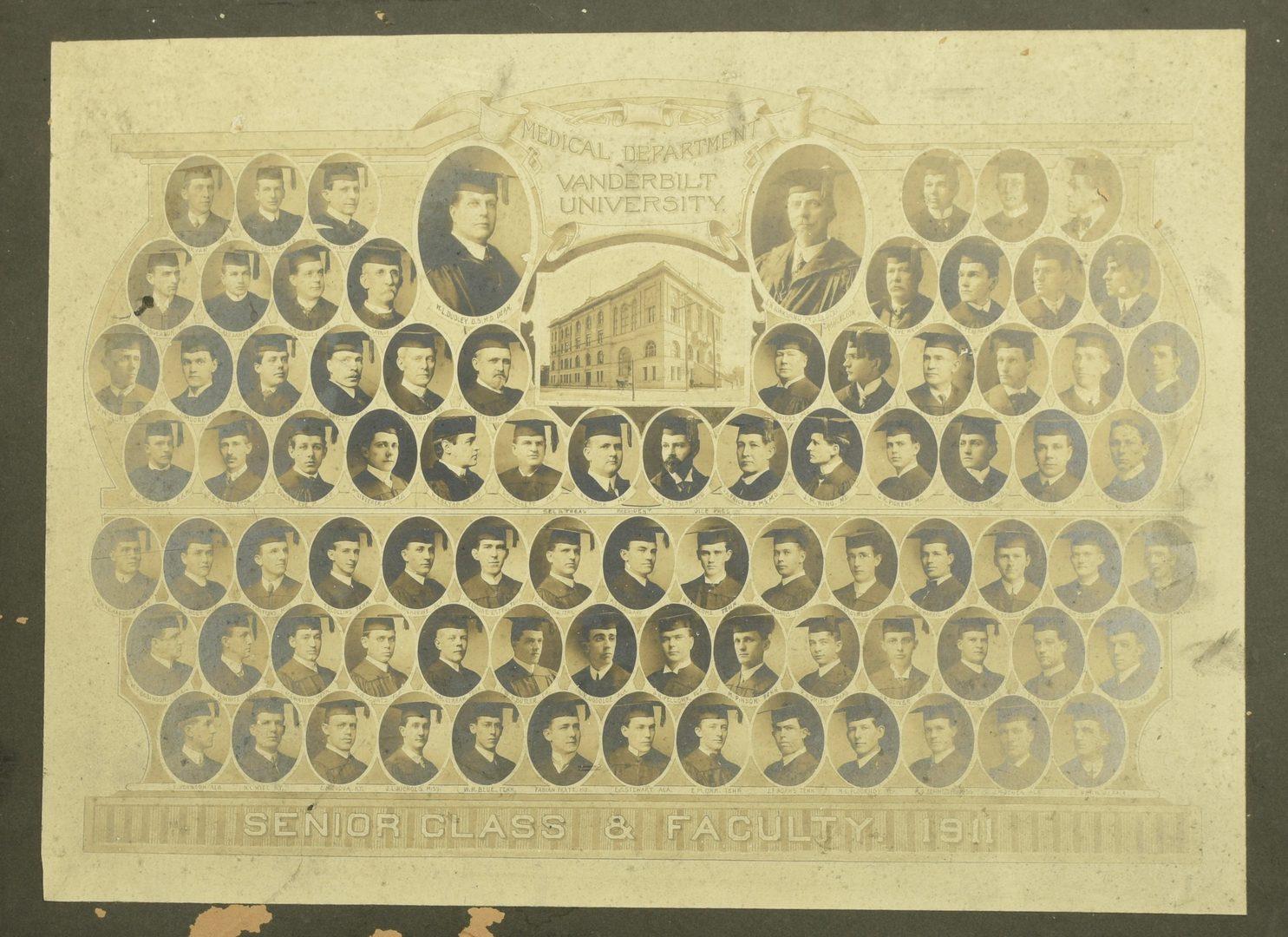 Lot 756: 8 Nashville Photographs: Politics, Schools, Church