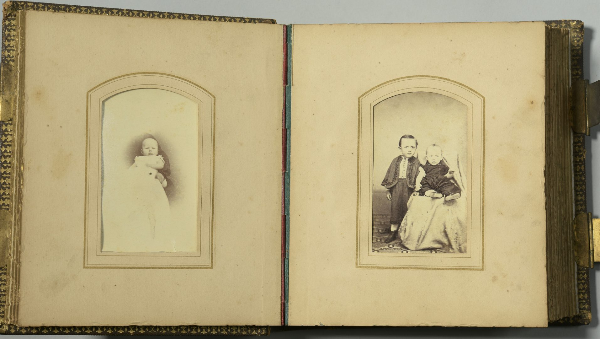 Lot 758: Album of assorted CDVS – Giers Family