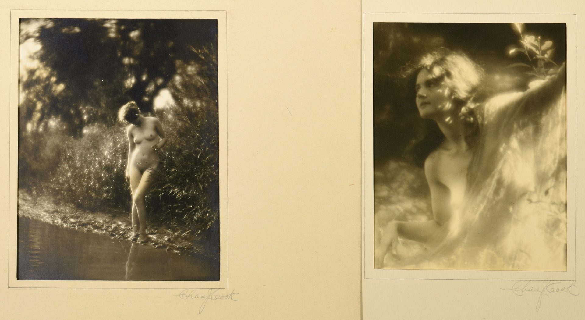 Lot 761: 8 Charlie Cook photographs inc. orotone