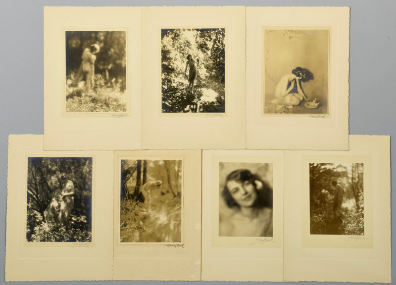 Lot 762: 7 Charlie Cook Gelatin Prints, inc. Nude