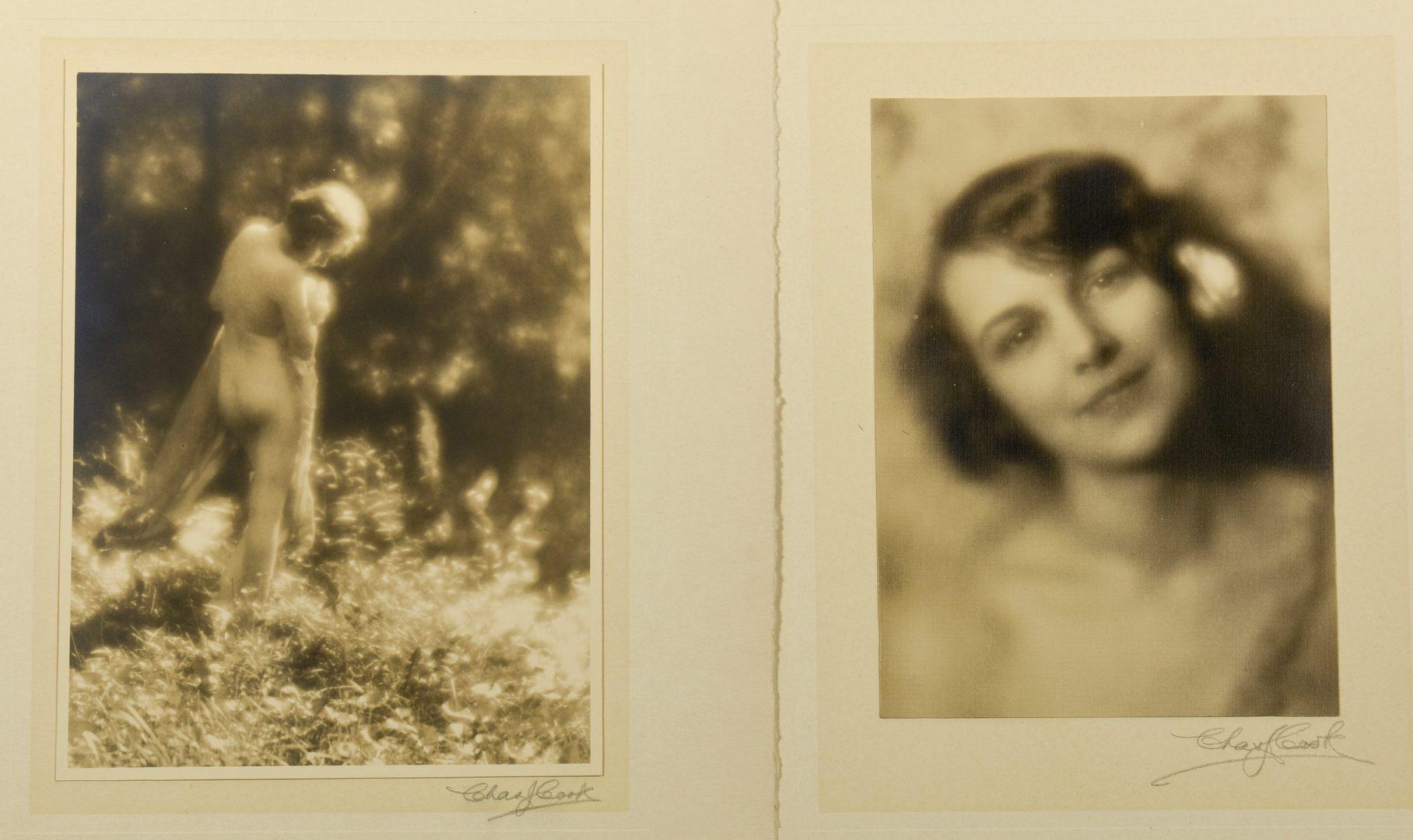 Lot 762: 7 Charlie Cook Gelatin Prints, inc. Nude