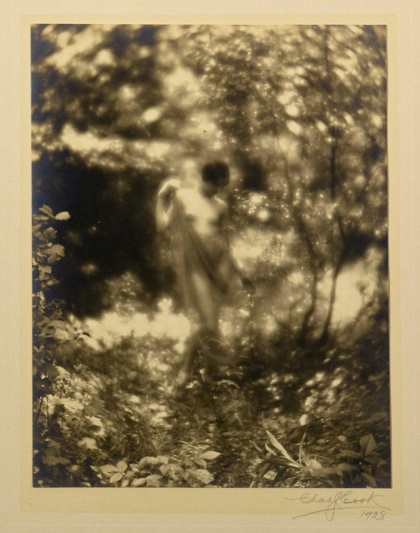 Lot 763: 8 Charlie Cook Gelatin Prints, Mostly Nude