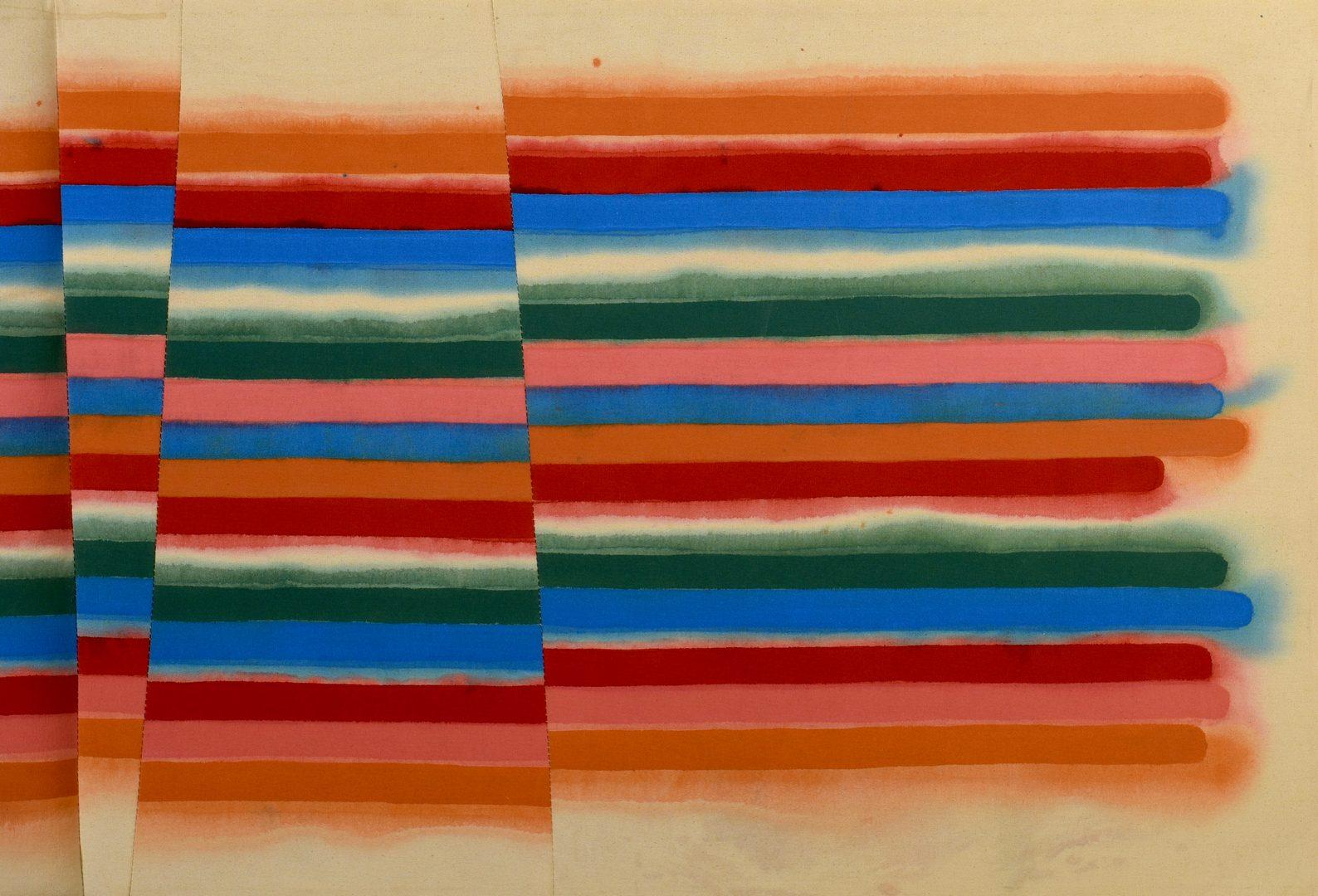 Lot 767: Victor Huggins acrylic on canvas