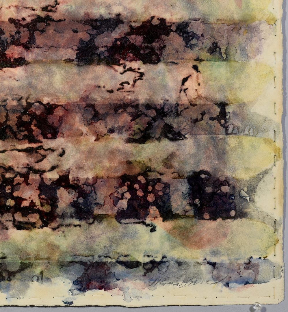 Lot 768: Whitney Leland watercolor