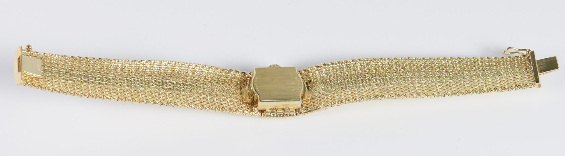 Lot 789: Ladies 14K Hamilton Bracelet Watch
