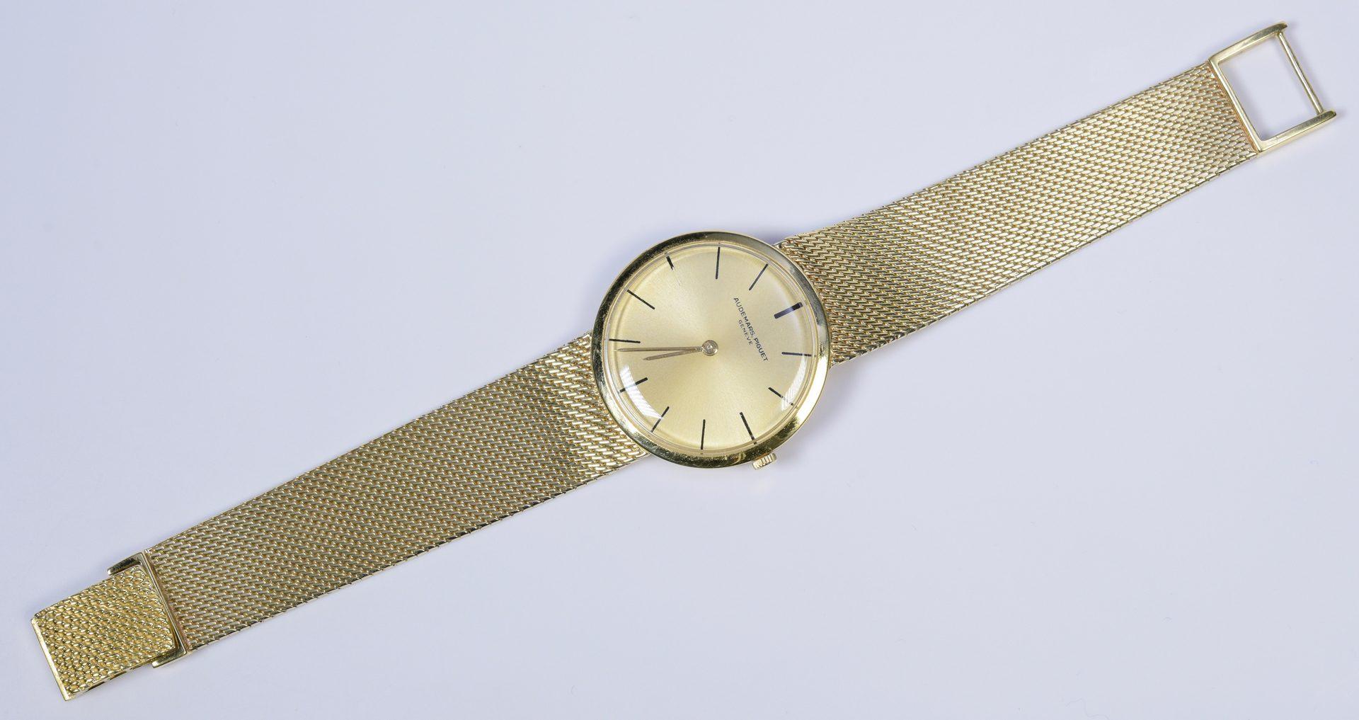 Lot 790: Mens 18K Audemars Piquet Dress Watch