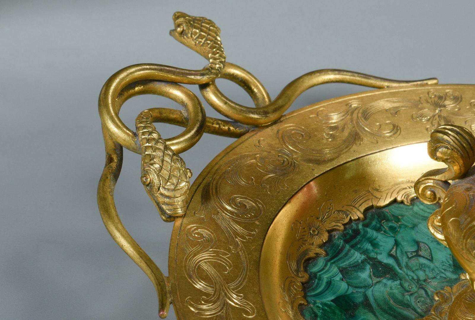 Lot 81: Bronze Mounted Box & Inkwell