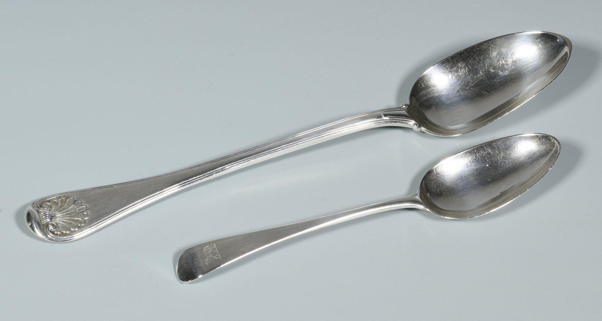 Lot 830: 5 pcs Sterling Silver inc. Asparagus tongs