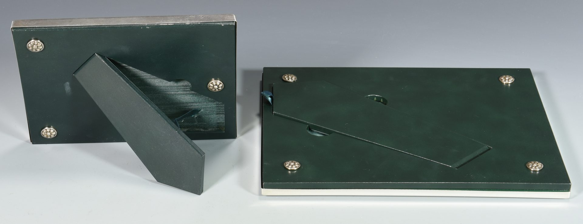 Lot 842: 2 Buccellati Sterling Frames