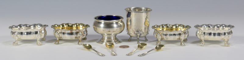 Lot 843: Sterling Salts, inc. Buccellati – Total 6