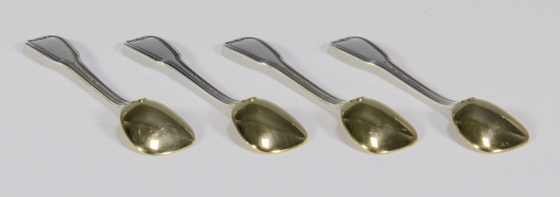 Lot 843: Sterling Salts, inc. Buccellati – Total 6