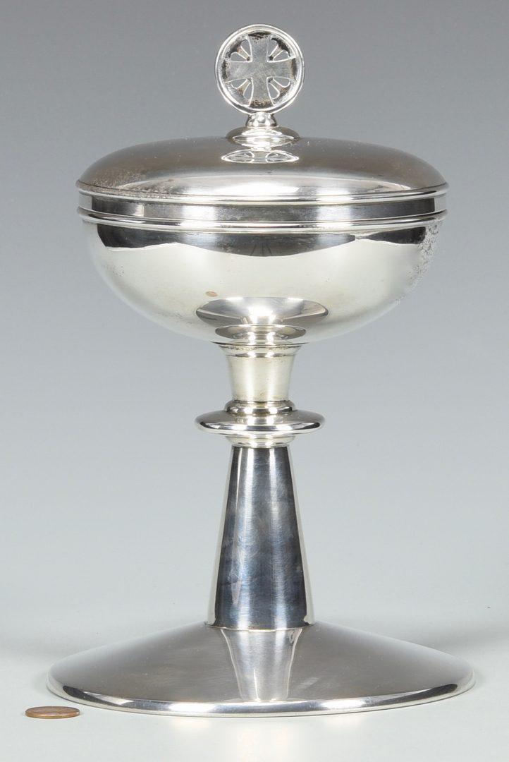 Lot 869: Gorham Sterling Silver Chalice