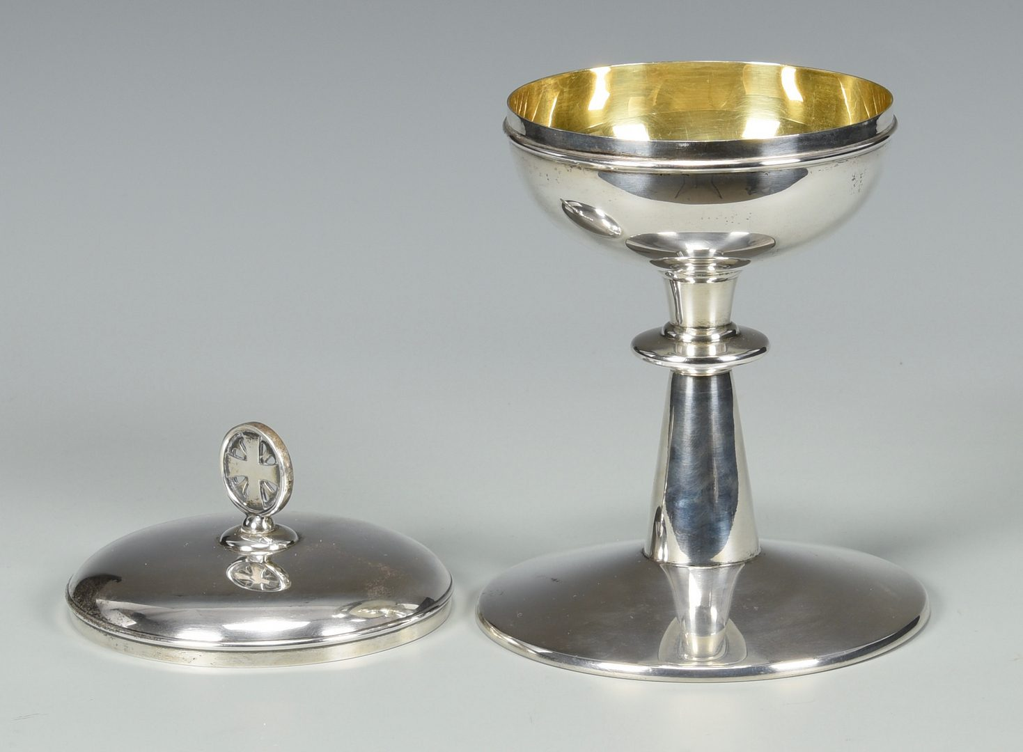 Lot 869: Gorham Sterling Silver Chalice