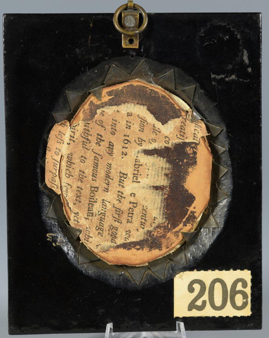 Lot 86: M. Finucane, miniature officer portrait