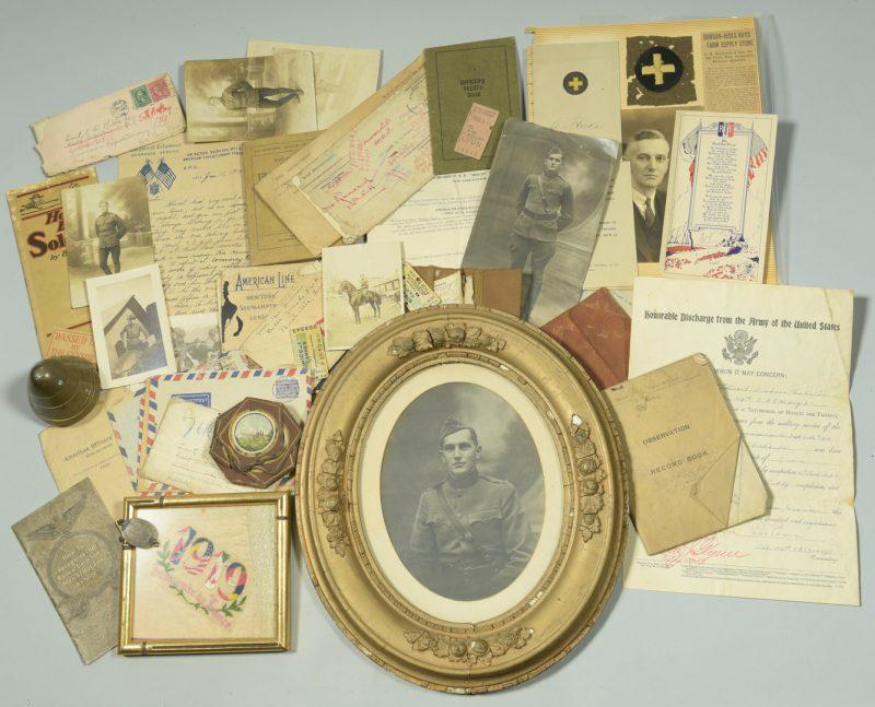 Lot 873: World War I Archive – E.D. Hicks