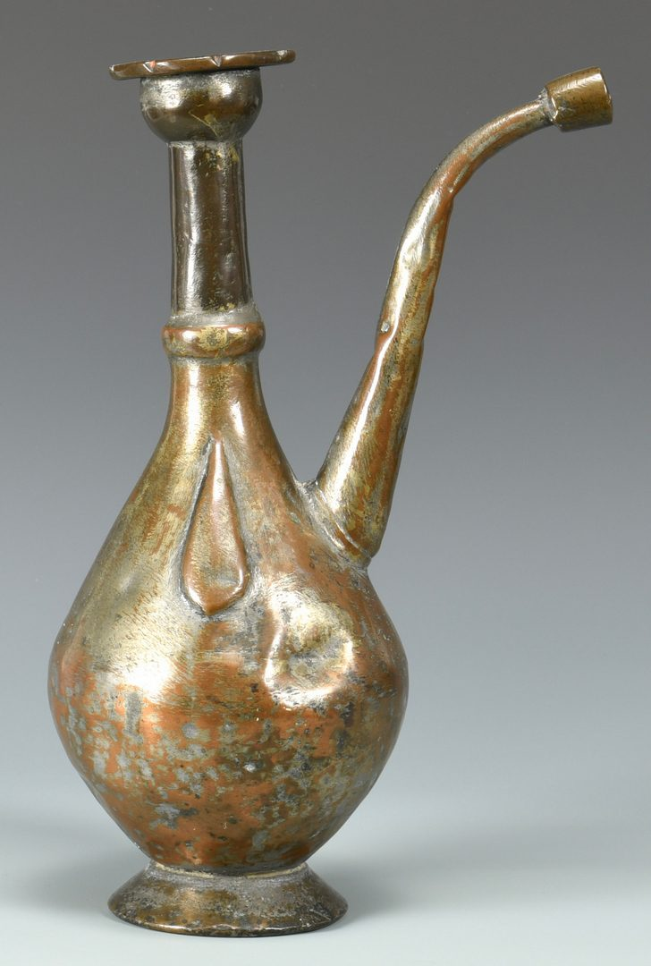 Lot 882: 18th Cent. Islamic Aftaba Ewer