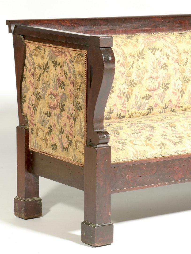 Lot 889: American Late Classical Sofa