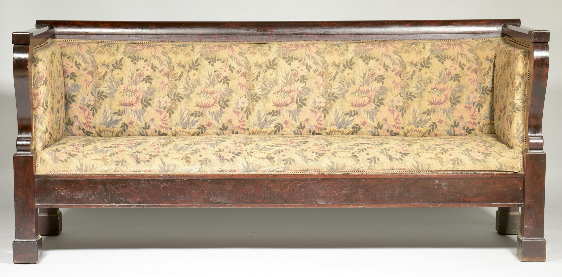 Lot 889: American Late Classical Sofa