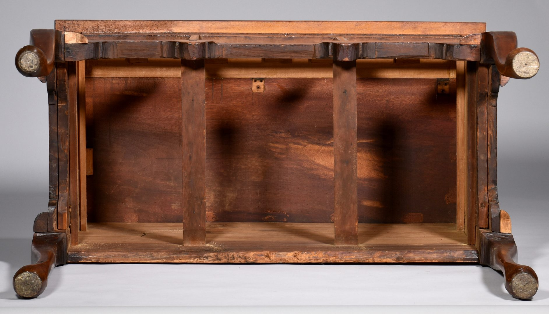 Lot 890: New England Queen Anne Cherry Lowboy
