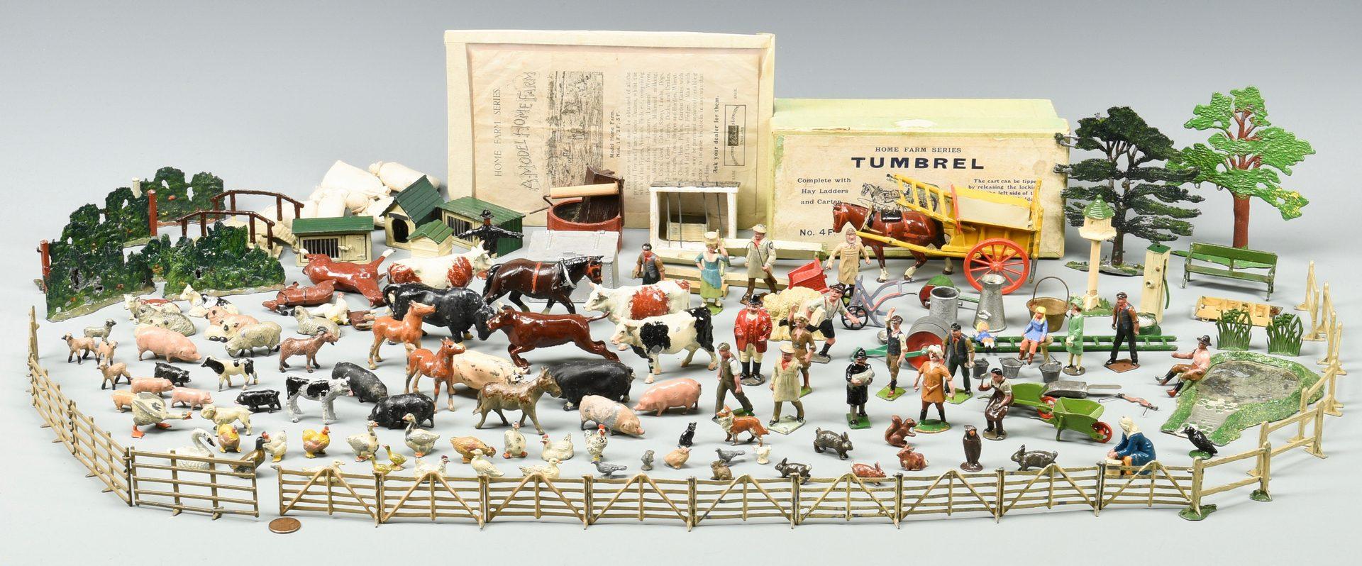 Lot 895: Vintage Britains Home Farm Series Toys