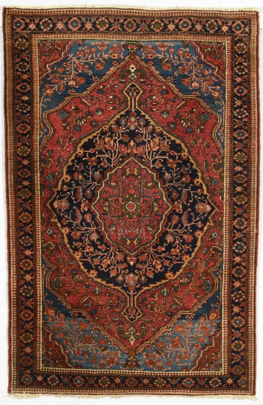 Lot 910: Persian Malayer Sarouk Rug, circa 1900.