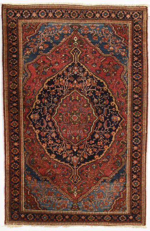 Lot 910: Persian Malayer Sarouk Rug, circa 1900.