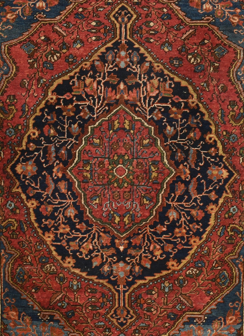Lot 910 Persian Malayer Sarouk Rug Circa 1900