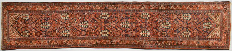 Lot 911: Persian Hamadan Runner, 17' x 3'10-1/2""