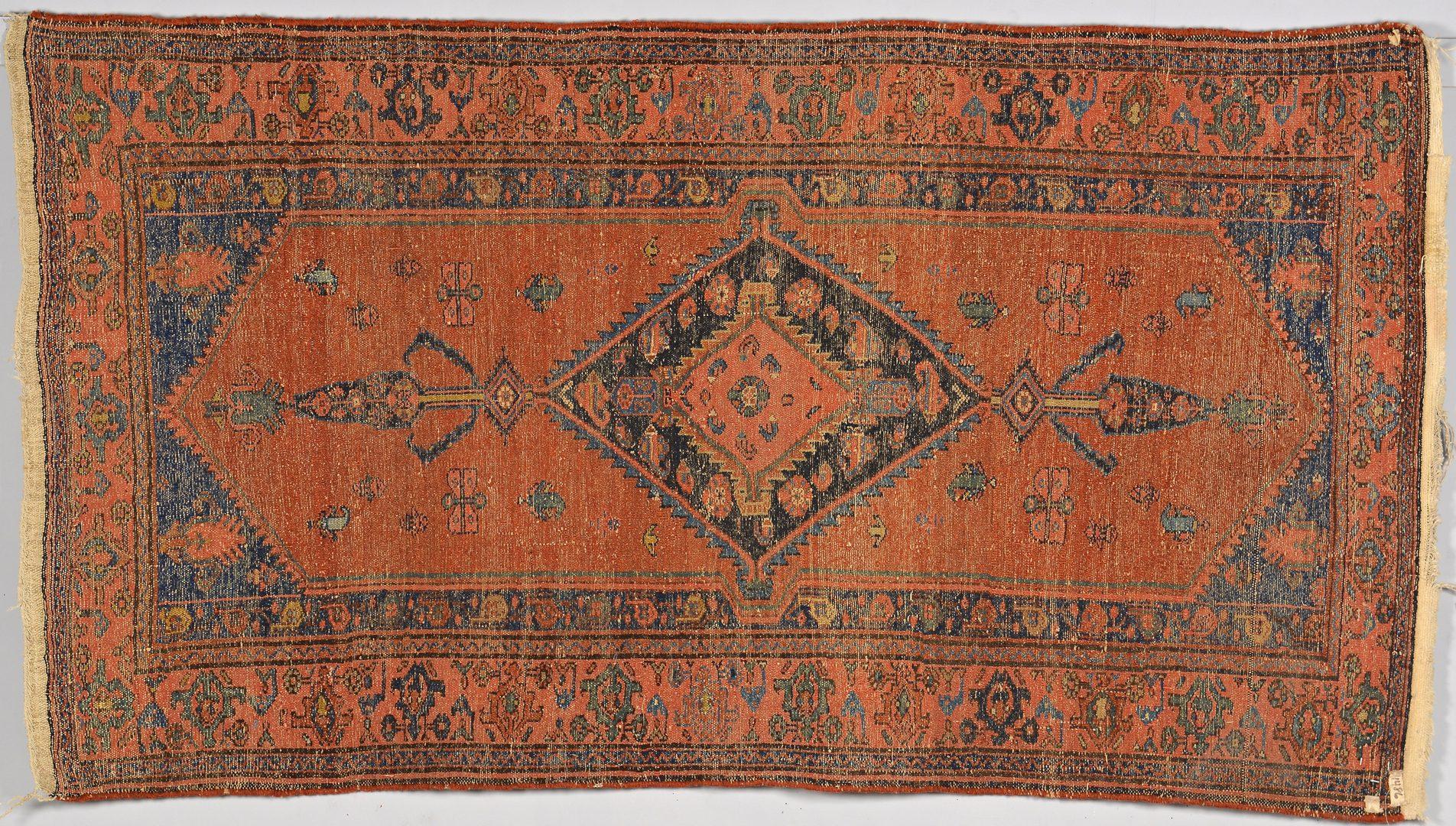 """Lot 912: Persian Hamadan Rug, 8'1"""" x 3'4"""""""