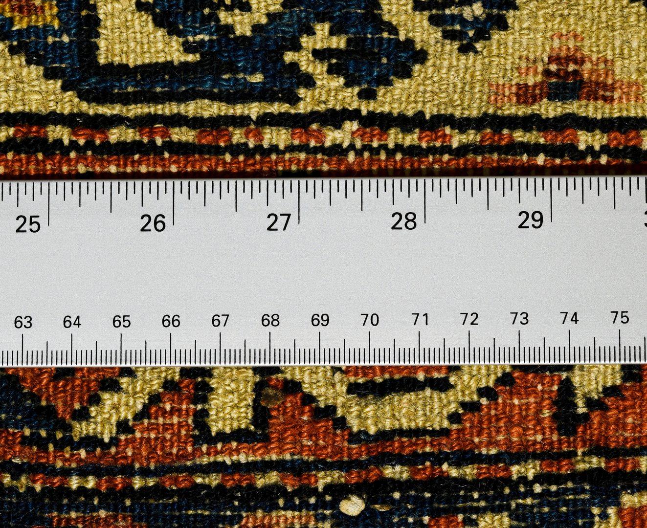 "Lot 914: Vintage South Persian rug, 4'10"" x 6'11"""