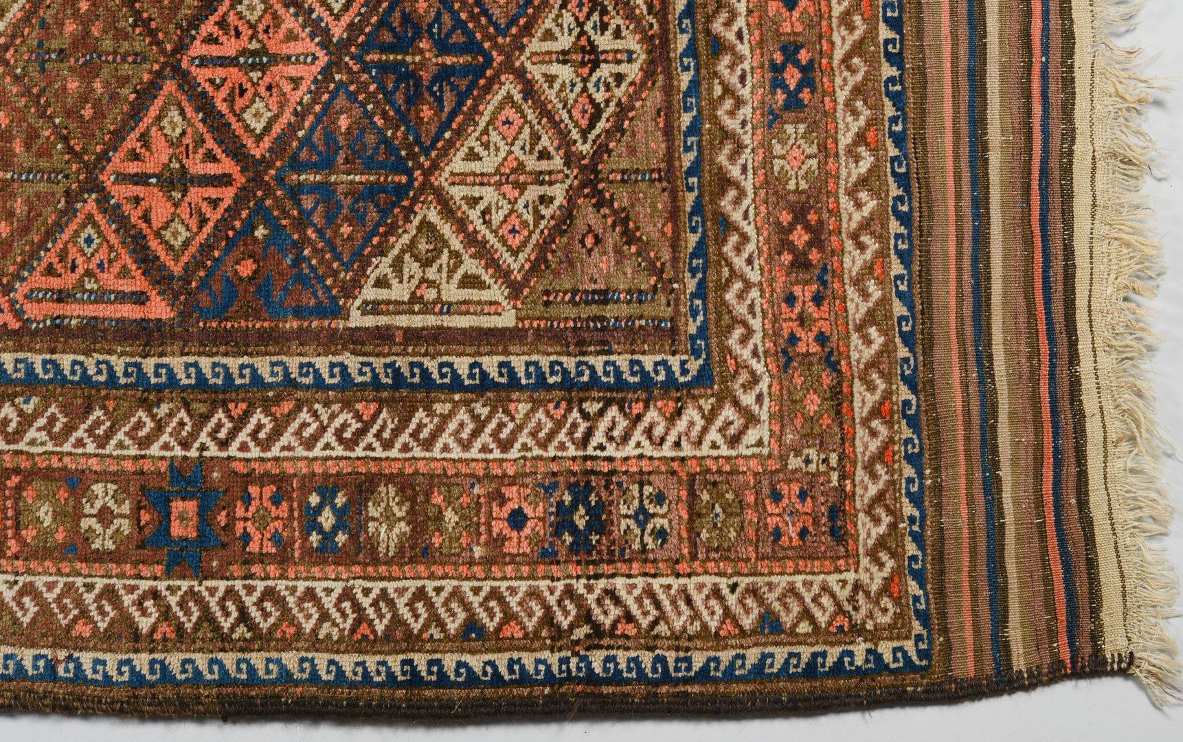 Lot 915: Semi-antique Baluchi Area Rug