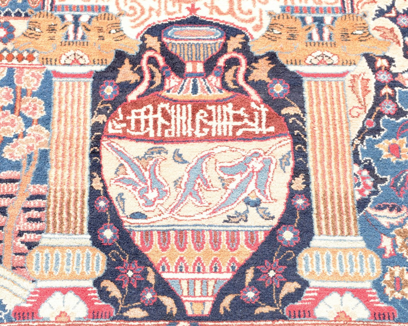 """Lot 916: Persian Fine Kashmar Carpet, 13'7"""" x 10′"""