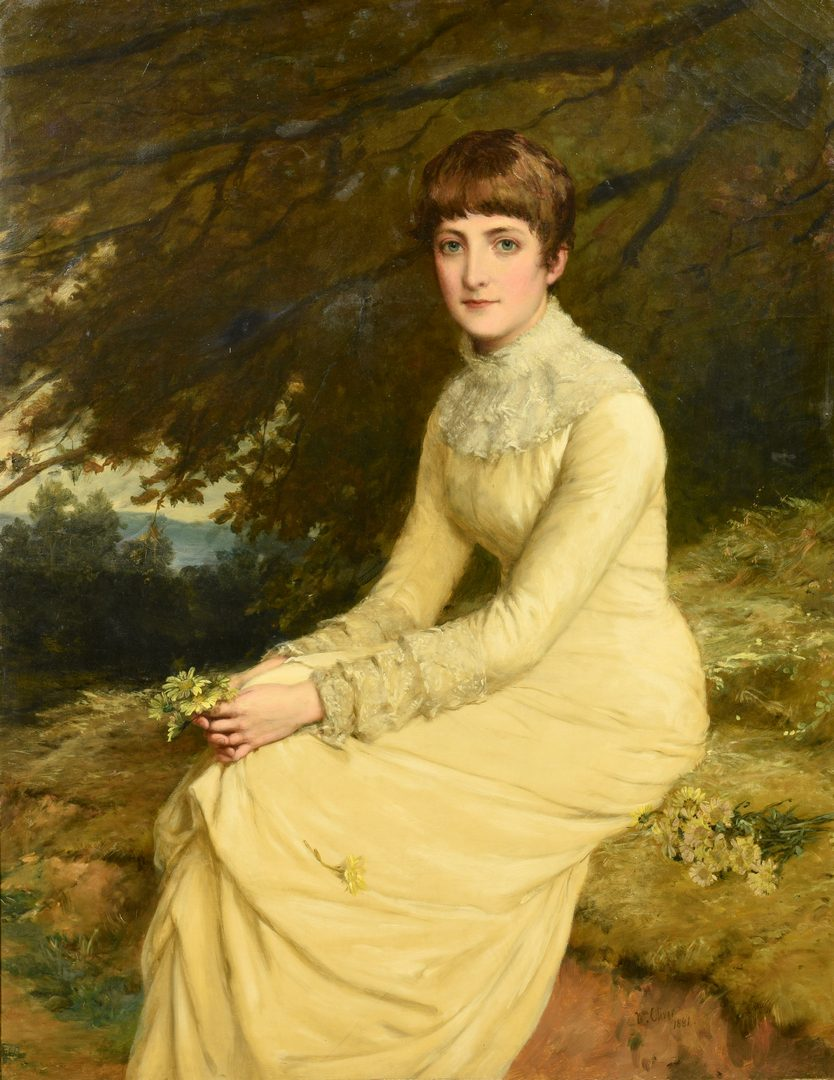 Lot 91: William Oliver Painting, ex. Royal Academy