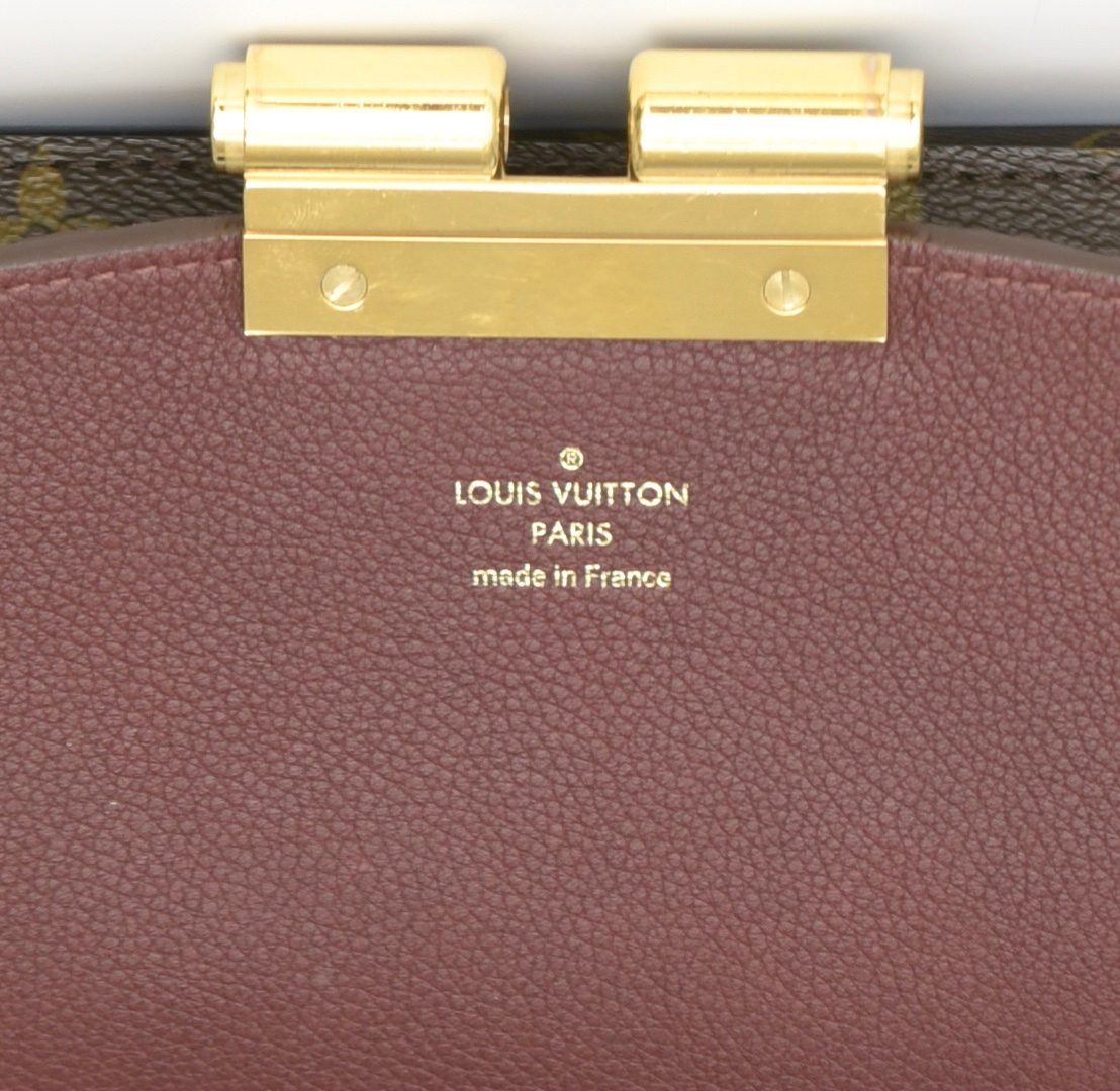 Lot 925: Louis Vuitton Monogram Olympe Bag & Toilette Pouch