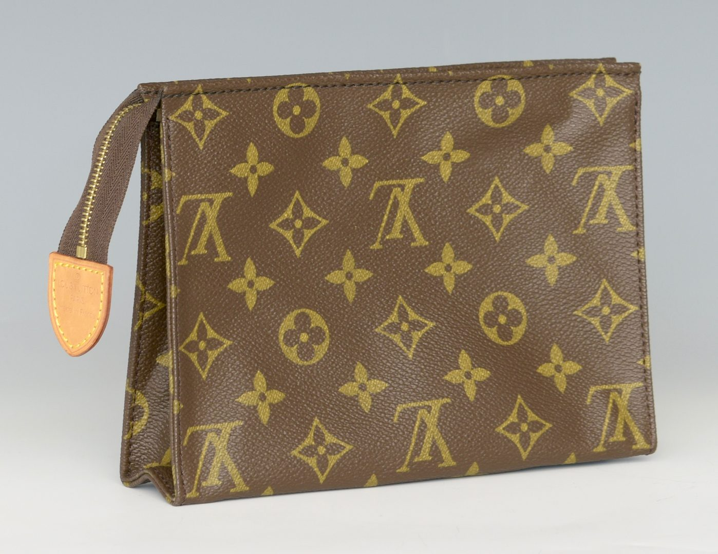 Lot 925: Louis Vuitton Monogram Olympe Bag & Toilette Pouch