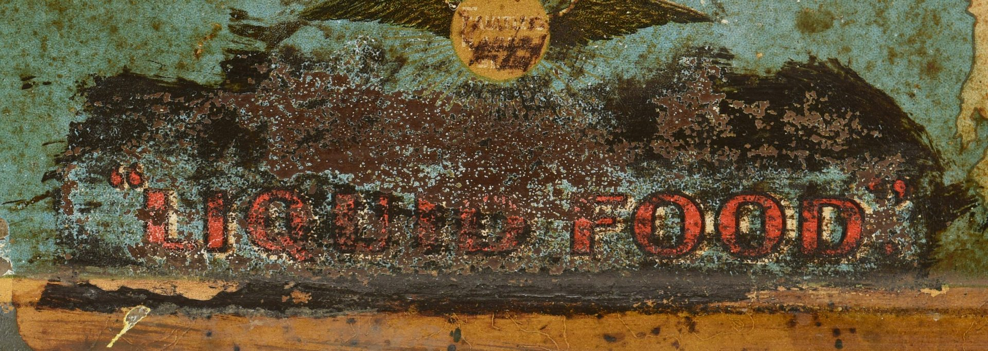 Lot 931: Chattanooga Brewing Co. Advertising Sign & Bottle