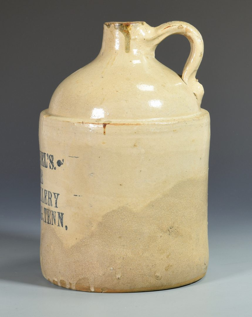 Lot 936: 2 Jack Daniels Advertising Whiskey Jugs