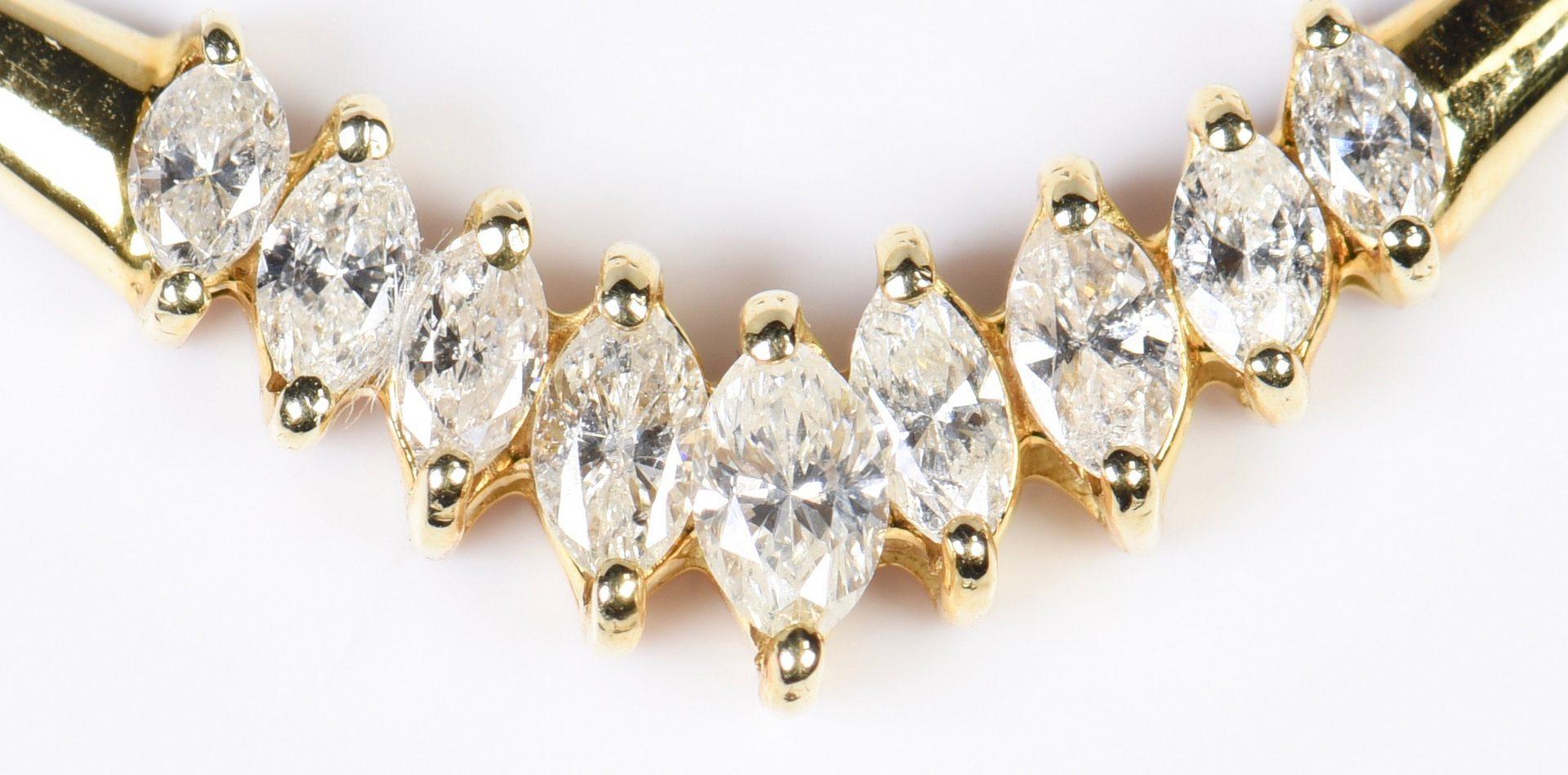 Lot 952: 14K White Gold & Precious Stone Jewelry