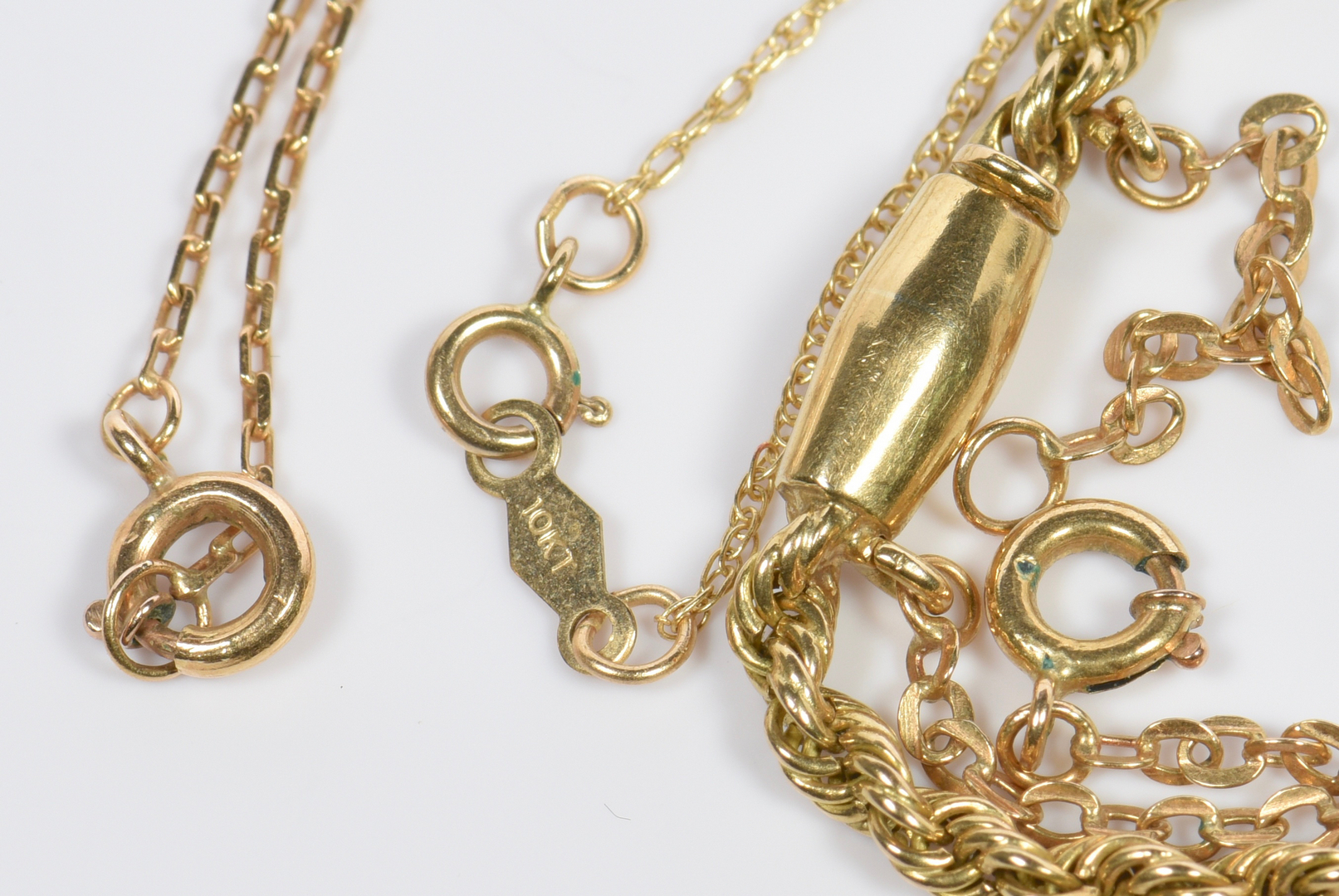 Lot 957 Group Of Gold Jewelry 11 Items