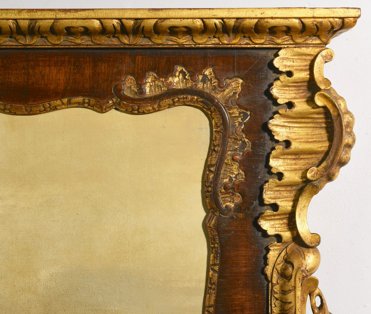 Lot 96: 18th Cent. Trumeau Mirror with Ships