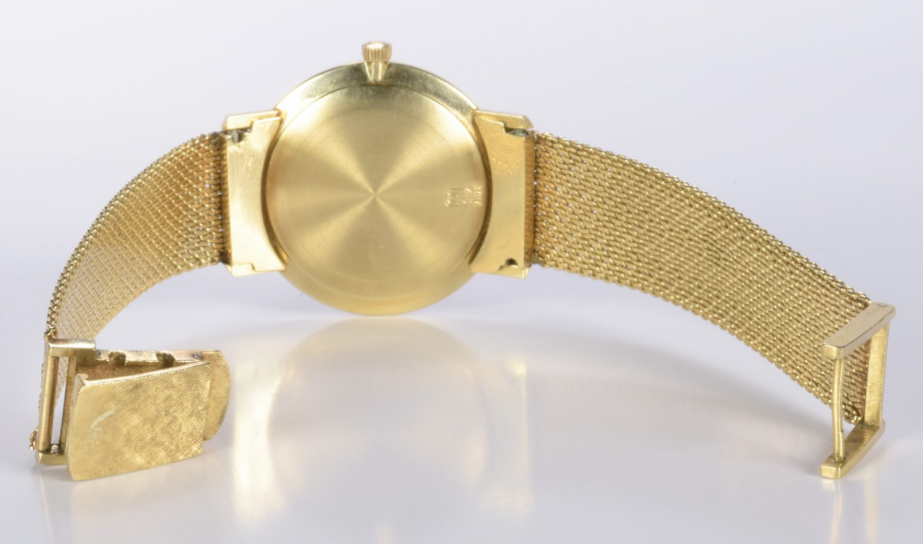 Lot 970: Jules Jurgenson 14K Gents Watch