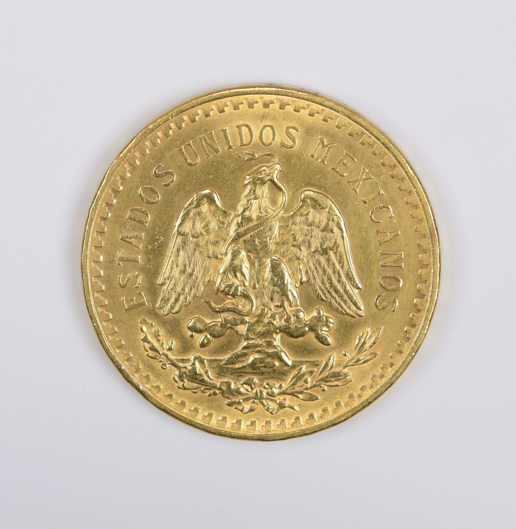 Lot 978: Mexico 1947 50 Pesos Gold Coin