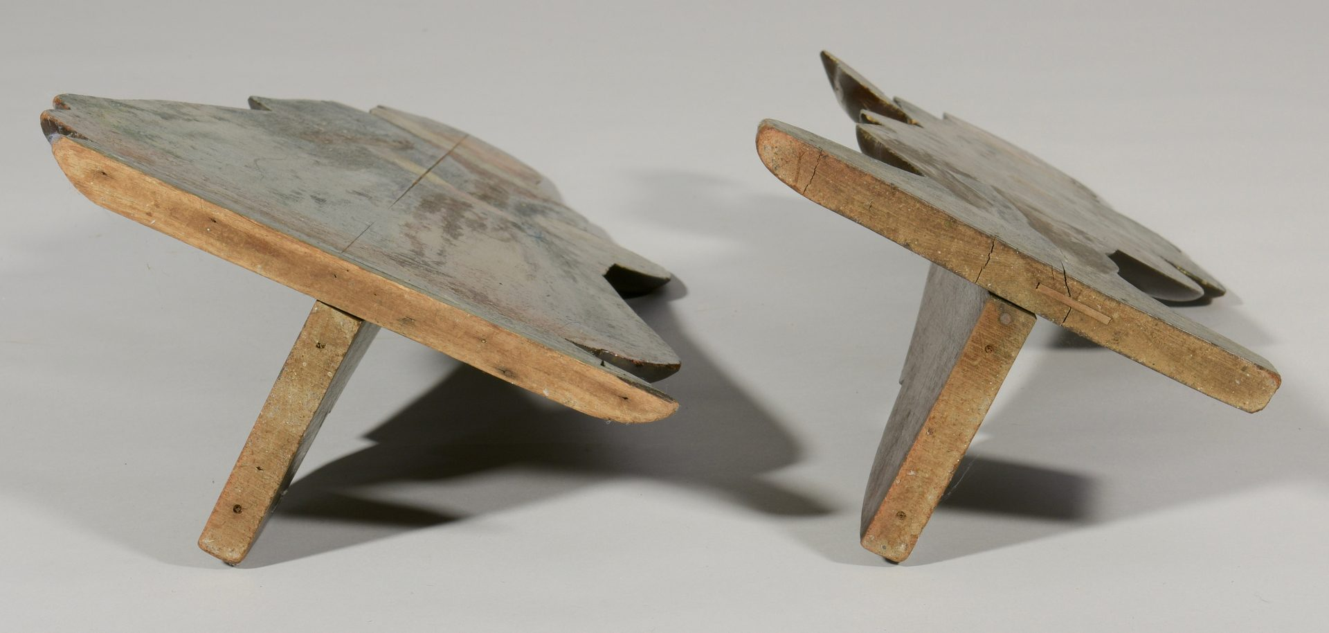Lot 97: Pair of 18th Century Dummy Boards